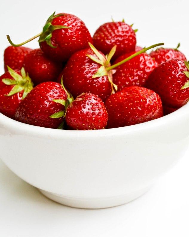 ironstone kitchen - bainbridge island strawberries