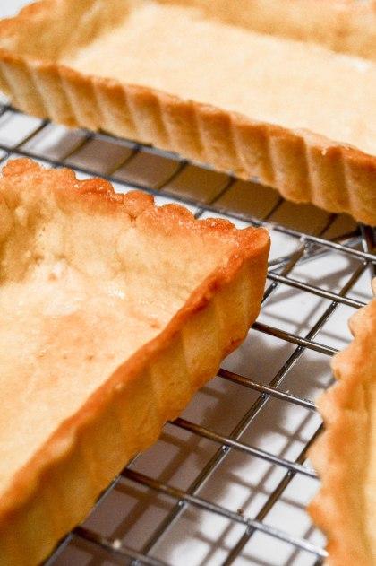 ironstone kitchen - pate brisee - baked tart shells