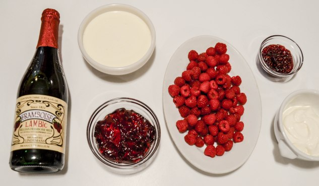 ironstone kitchen - raspberry tart filling ingredients