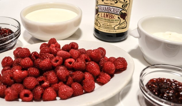 ironstone kitchen - raspberry tarts - filling ingredients
