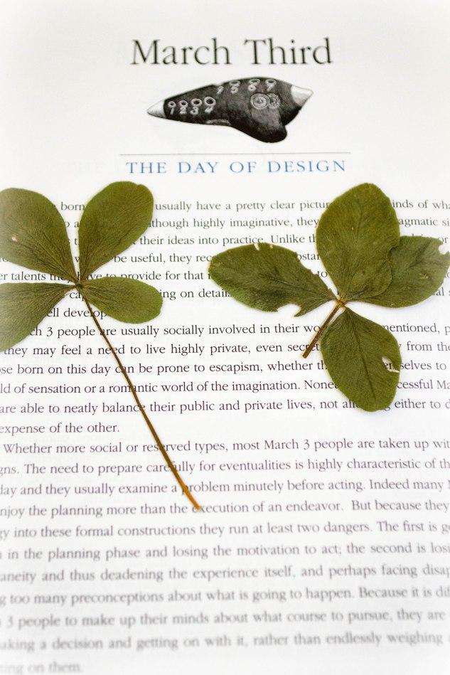 komedal road - a four leaf clover post