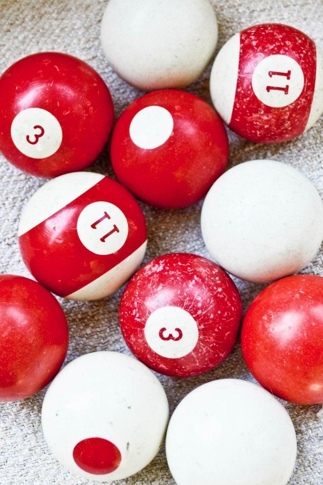 seabold vintage market - vintage billiard balls