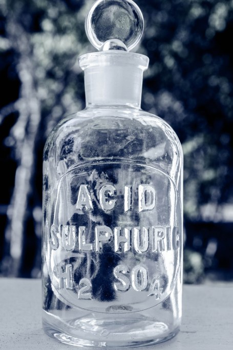 Komedal Road - Acid Sulphuric Bottle