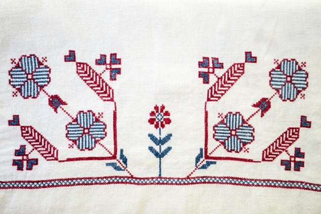 komedal road - embroidered fabric 4