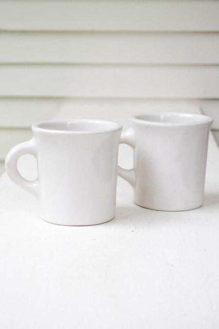 komedal road - ironstone coffee cups