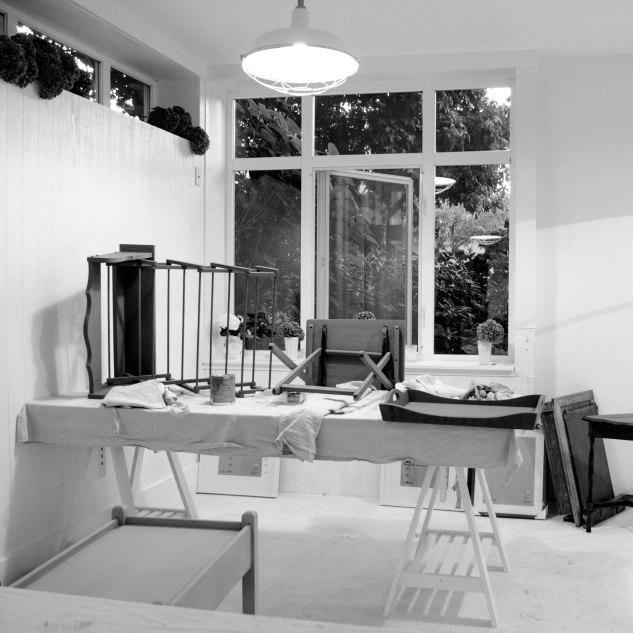 Komedal Road - Paint Like a Pro Workshop - Front of Studio