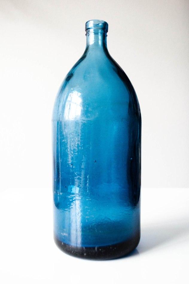 Komedal Road - Indigo Blue Selzer Bottle