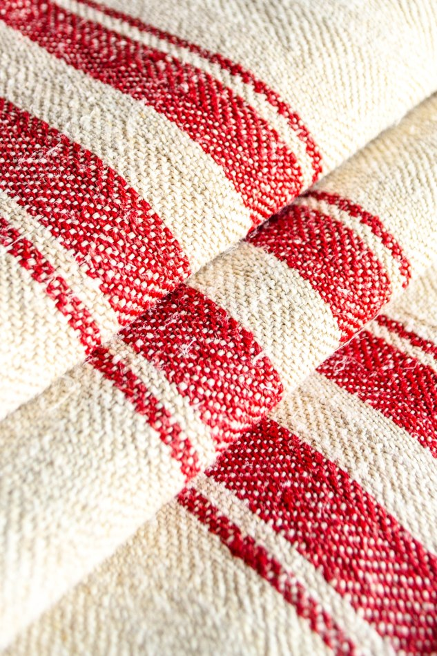 Komedal Road - Red Stripe Grainsack 2