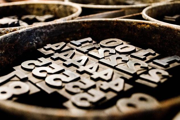 Ormolulu - Letterpress Type
