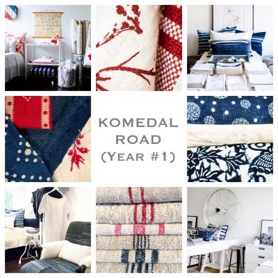 Komedal Road - Year 1