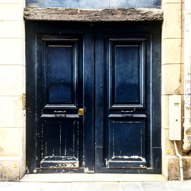 FRENCH MARKET GOODS - Navy Blue Doors