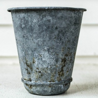 Komedal Road - Garden House Vintage - French Zinc Pot